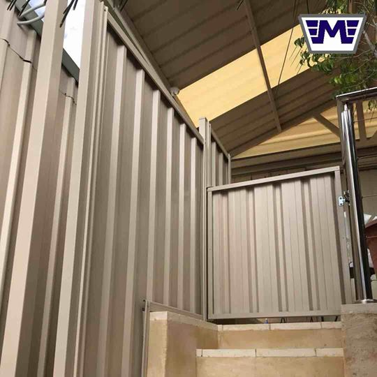 Colorbond Gate Kits Perth Mackson Group Colorbond Gate